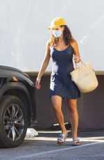 ADRIA ARJONA Leaves a Dry Cleaners in Los Angeles 08/11/2020