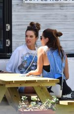 ALESSANDRA AMBROSIO Out for Take-out Lunch in Malibu 08/14/2020
