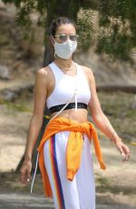 ALESSANDRA AMBROSIO Out Hiking in Pacifis Palisades 08/05/2020