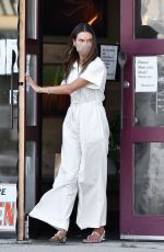 ALESSANDRA AMBROSIO Out Shopping in Brentwood 08/04/2020