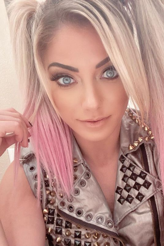 ALEXA BLISS at WWE Smackdown in Orlando 08/28/2020
