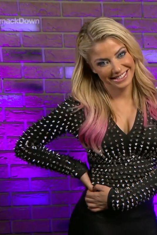 ALEXA BLISS – WWE Smackdown in Orlando 07/31/2020