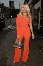 AMBER TURNER at Club L Summer Launch in London 08/19/2020