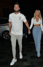 AMBER TURNER at Roka in London 08/16/2020