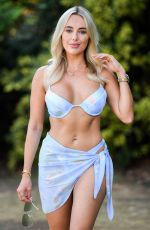 AMBER TURNER in Bikini on the Set of TOWIE 08/12/2020