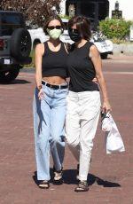 AMELIA and DELILAH HAMLIN Shopping at Malibu Country Mart 08/10/2020