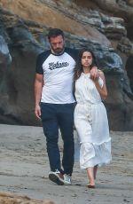 ANA DE ARMAS and Ben Affleck Out at a Beach in Malibu 08/03/2020