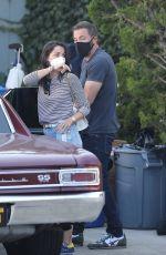 ANA DE ARMAS and Ben Affleck Out in Malibu 0/10/2020