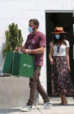 ANA DE ARMAS and Ben Affleck Out Shopping in Venice Beach 08/20/2020
