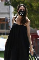 ANGELINA JOLIE Out and About in Los Feliz 08/05/2020