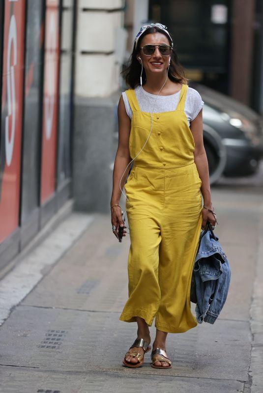 ANITA RANI Arrives at BBC Wogan House in London 08/11/2020