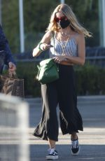 ANNABELLE WALLIS and Chris Pine Out Shopping in Los Angeles 08/14/2020