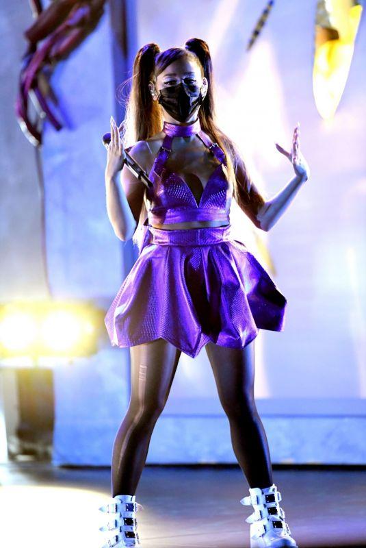 ARIANA GRANDE at 2020 MTV Video Music Awards 08/30/2020