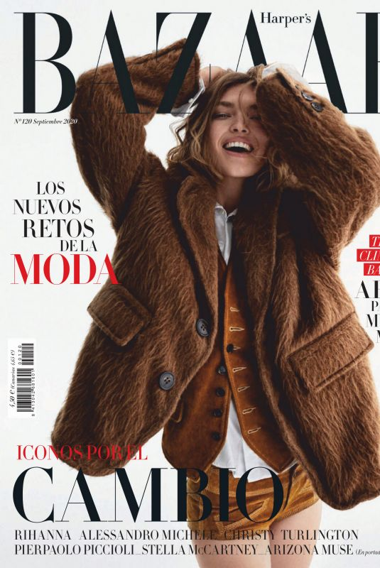 ARIZONA MUSE in Harper's Bazaar Magazine, Spain September 2020