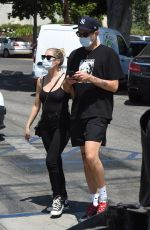 ASHLEY BENSON and G-Eazy Out Shopping in Los Angeles 08/04/2020