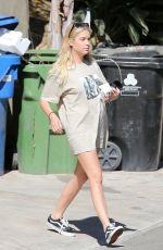 ASHLEY BENSON Leaves Her Home in Los Feliz 08/09/2020
