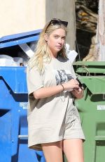 ASHLEY BENSON Out and About in Los Feliz 08/09/2020