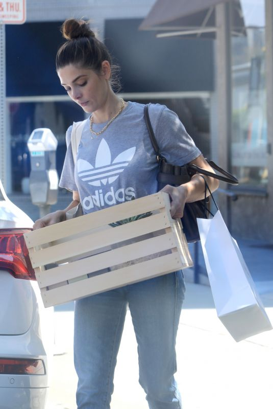 ASHLEY GREENE Out Shopping in West Hollywood 08/05/2020