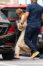 ASHLEY OLSEN Leaves The Row Office in New York 08/06/2020