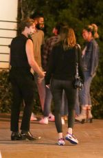 BARBARA PALVIN and Dylan Sprouse Out Celebrates His Birthday in West Hollywood 08/04/2020