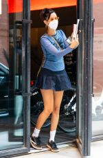 BELLA HADID Out and About in Bew York 07/30/2020