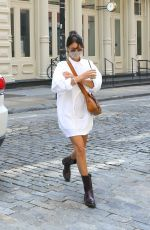 BELLA HADID Out and About in New York 08/28/2020