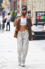 BELLA HADID Out Shopping in New York 08/12/2020