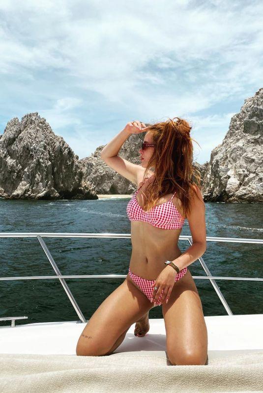 BELLA THORNE in Bikini at a Boat – Isntagram Photos 08/12/2020