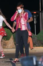 BELLA THORNE Out for Dinner at Nobu in Malibu 08/08/2020