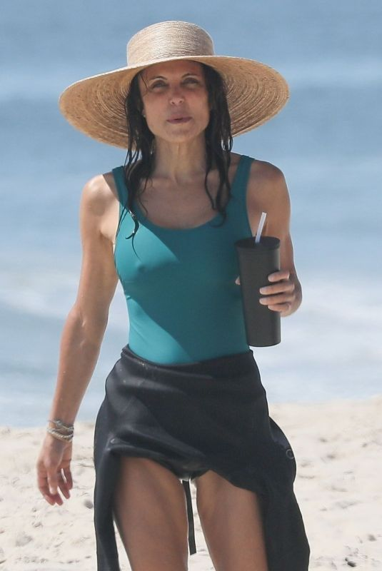 BETHENNY FRANKEL in Swimsuit at a Beach in Hamptons 08/01/2020