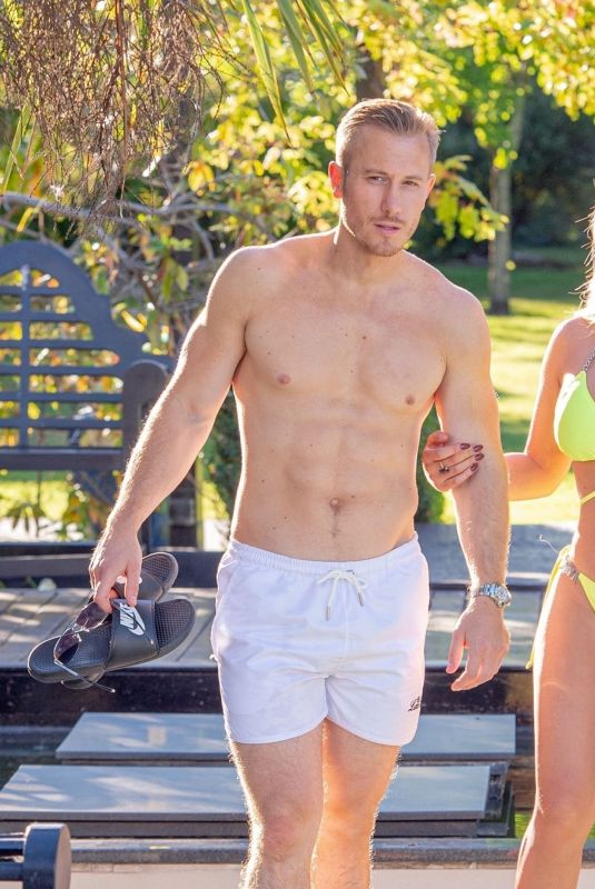 BIANCA GASCOIGNE in Bikini at a Pool in Croatia 08/17/2020