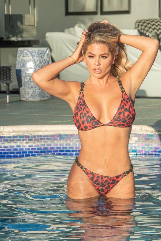 BIANCA GASOIGNE in Bikini at a Pool in Croatia 08/18/2020