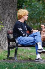 BILLIE PIPER and Johnny Lloyd at a Park in London 08/26/2020