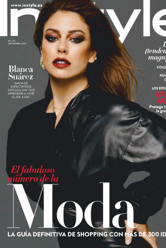 BLANCA SUAREZ in Instyle Magazine, Spain September 2020