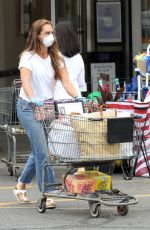 BROOKE SHIELD Out Shopping in New York 08/06/2020