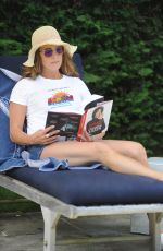 BROOKE SHIELDS Out in The Hamptons 08/27/2020