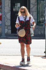 BUSY PHILIPPS Out and About in Los Angeles 08/10/2020