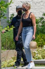 CAMERON DIAZ and Benji Madden Out in Los Angeles 08/23/2020