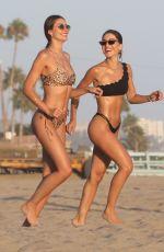 CAMILA COELHO in a Black Bikini at a Beach in Malibu 08/15/2020