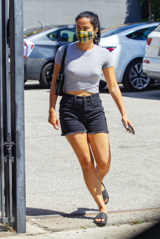 CAMILA MENDES Heading to a Medical Clinic in West Hollywood 08/13/2020