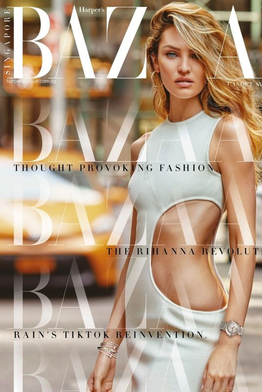 CANDICE SWANEPOEL in Harper's Bazaar Magazine, Singapore September 2020