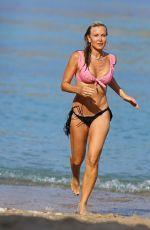 CAPRICE BOURET in Bikini at a Beach in Spain 088//25/2020
