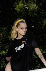 CARA DELEVINGNE for Puma Ad Campaign 2020