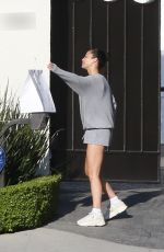 CARA SANTANA Grabbing Her Food Delivery at Her Home in Los Angeles 08/03/2020