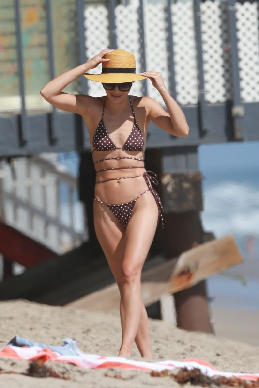 CARA SANTANA in Bikini at a Beach in Malibu 08/27/2020
