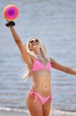 CHARLEY BOND in a Pink Bikini at a Beach at Gold Coast 08/16/2020