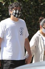 CHARLI XCX and Huck Kwong Out in Los Angeles 08/28/2020