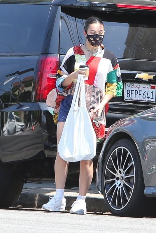 CHARLI XCX Out and About in Los Feliz 08/16/2020
