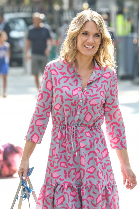 CHARLOTTE HAWKINS at Global Offices in London 08/13/2020