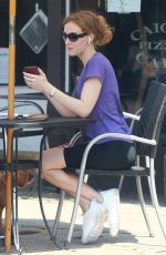 CHARLOTTE KIRK Out and About in Los Angeles 08/19/2020